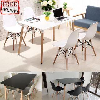 Table/Dining table/Eames table/Coffee table set/Type 4
