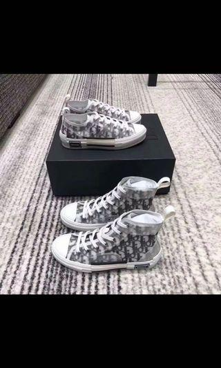 🚚 DIOR oblique high cut/low cut sneakers FAUX