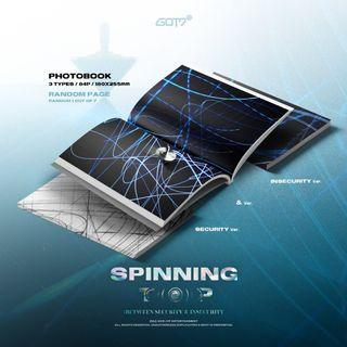 [NON-PROFIT G.O] GOT7 SPINNING TOP: BETWEEN SECURITY AND SECURITY> Album Group Order