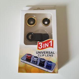 99% New 3 in 1 Universal Clip Lens