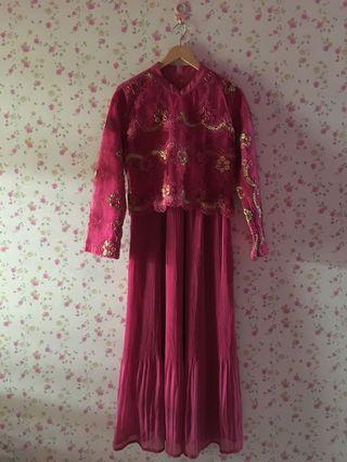 Long Dress Pink Fanta