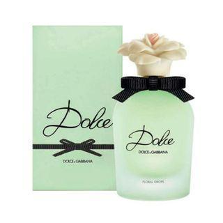 BNIB Dolce Gabbana Floral Drops EDT 75ml