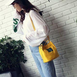 帆布手提包-黃色