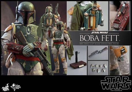 Hot Toys sideshow collectibles Boba Fett return of the jedi figurine