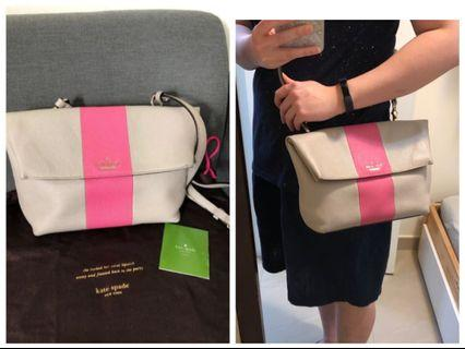 Kate Spade Bag Pink and Beige 手袋 #MTRcentral