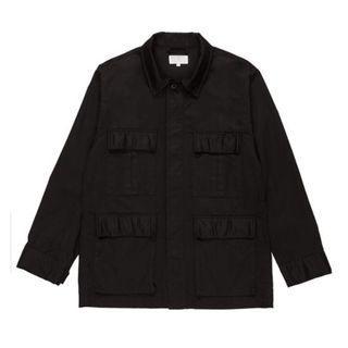 🚚 全新品 Plain me 重磅斜紋M65軍裝外套 黑色S號 COP0922 Plainme