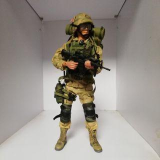 十二吋軍事figure 美軍Ranger 自家改!