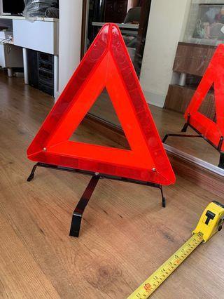 車用—可摺式反光標示危險警告牌