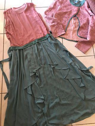 Dress Tosca Pink + Blazer
