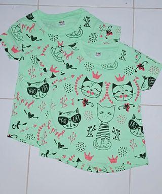 Girls cute tshirt q&k