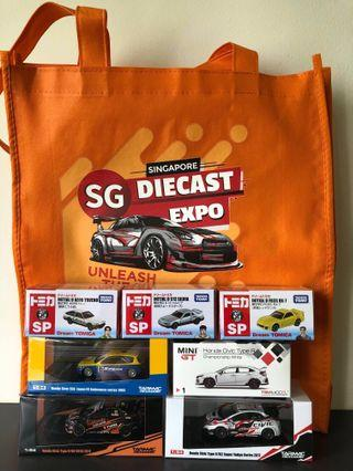 Singapore Diecast Expo 2019 Tarmac Works Honda EG6 Spoon (limited edition)