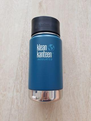50% OFF!! Klean Kanteen Insulated Wide 12oz with Cafe Cap