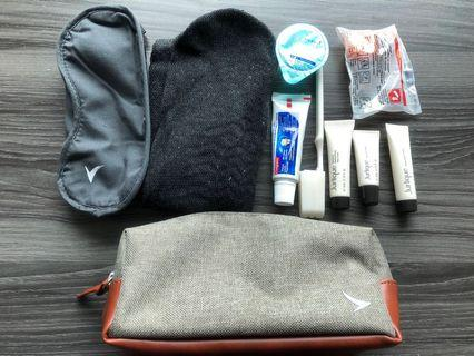 Cathay pacific travel bag 商務