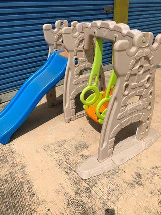 Little tikes swing and slide playset