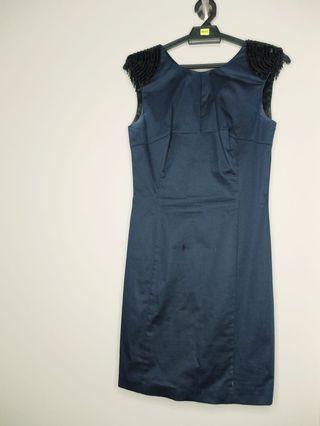 Oasis Beaded Shoulder Dress