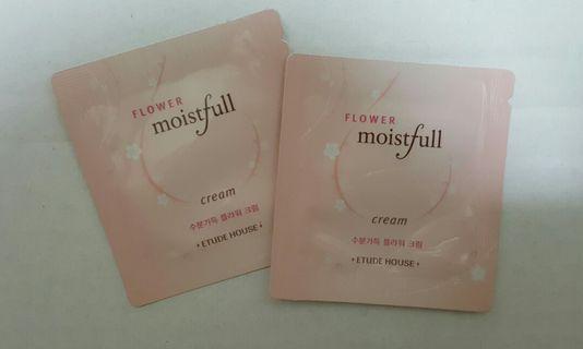 #Blessing @ P&H $1.80📬Brand New Etude House Flower Moistfull Cream