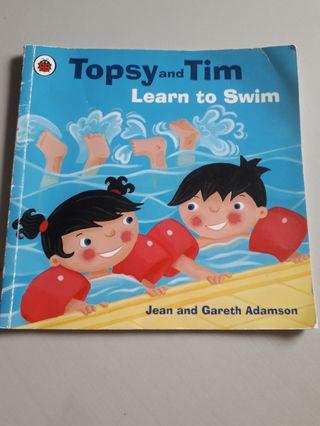 Ladybird : Topsy and Tim Learn to swim