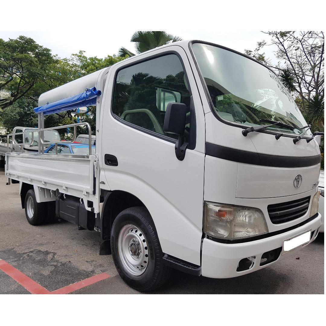 10ft Lorry rental from $40 per day