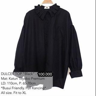 Dulcet top black