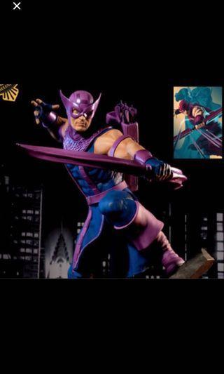 Sideshow Exclusive Hawkeye Statue