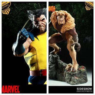 Sideshow collectibles wolverine sabretooth pf exclusive