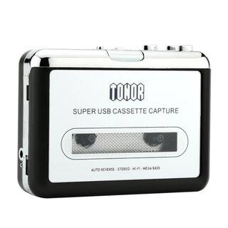 (BNIB) TONOR Portable Cassette Player & USB Audio Converter (Brand New Boxed)