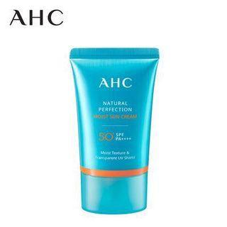 AHC Natural Perfection Moist Sun Cream 50+ SPF PA++++