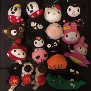 Disney Sanrio The Dog McDonald's Toys - 16pcs