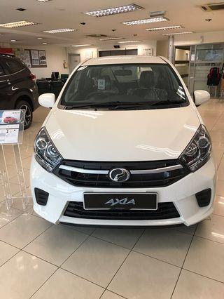 Perodua Axia G (Auto/Manual)