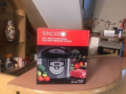 SINCERO SPC-9001 Multi-Functional 8 in 1 Pressure Cooker(6L)