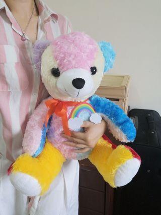 Rainbow Colour Bear 彩虹熊娃娃