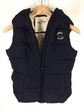 Navy Blue Hollister Winter Vest.