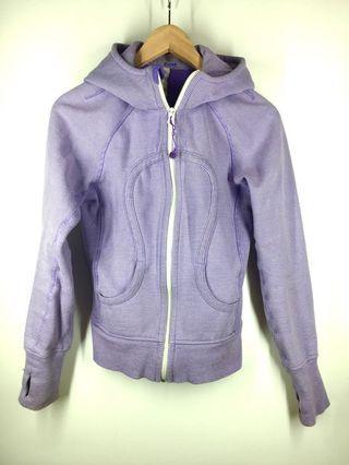 Purple Lululemon Scuba Hoodie size 4