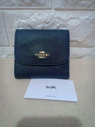 authentic coach small wallet not ks,mk,dkny,lacoste