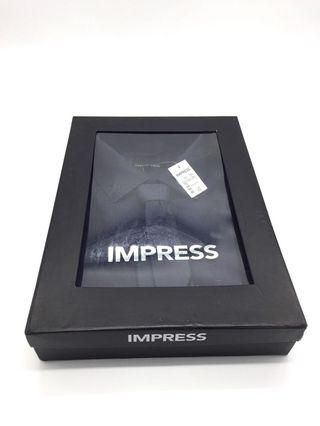 BRAND NEW with tag and box! Impress Dress Shirt Navy Blue