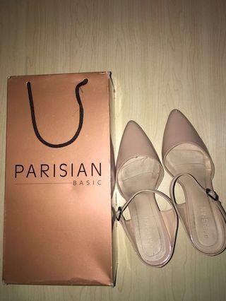 Pink Pastel Parisian Heels Size 7