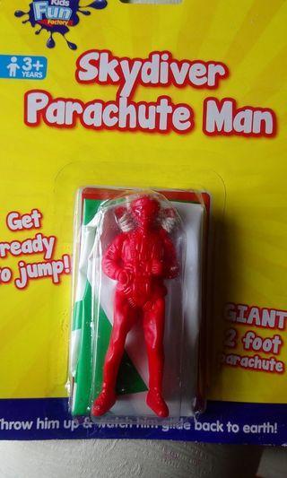 全新經典懷舊跳傘人玩具Skydiver parachute man