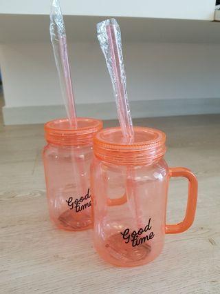 Plastic Mason Jar BRAND NEW!! CHEAP!!