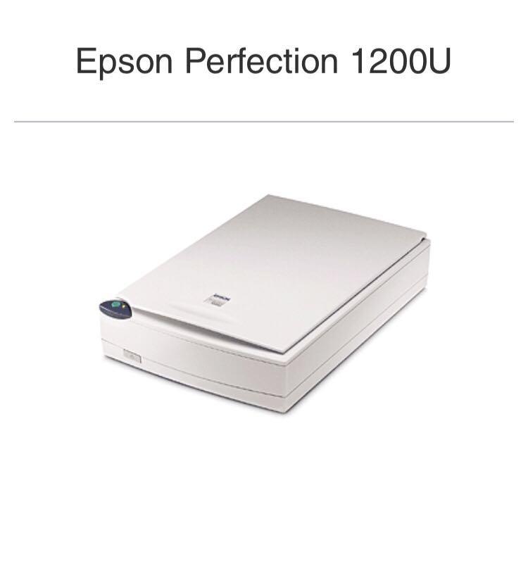 1200U Epson Perfection USB Flatbed Scanner