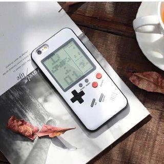 Casing Iphone 7 (Gameboy) pink/white