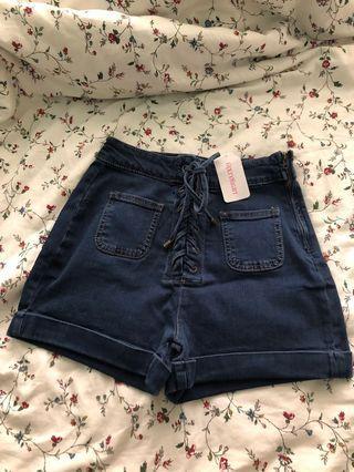 🚚 6ixty8ight highwaist shorts