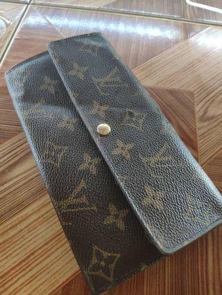 Authentic Louis Vuitton LV Limited Edition Sarah Fleuri Wallet