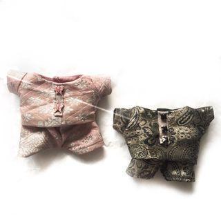 <STOCK SALE> (pink/black ver.) BAJU MELAYU FOR 20CM DOLL
