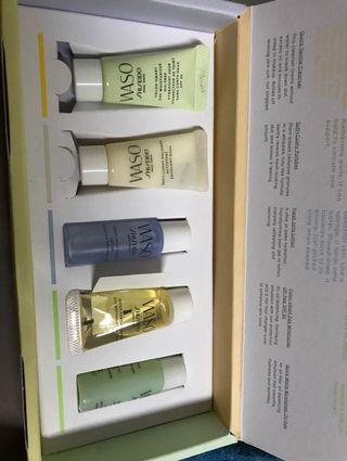 Shiseido WASO miniature skincare