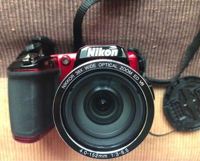 📸 Nikon Coolpix L840 WIFI (including Guidebook + Battery AA 2 pcs)