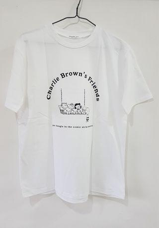 韓國 春夏 休閒 Charlie Brown's Friend T-Shirt