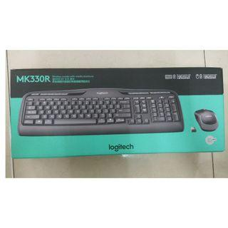 🚚 【Logitech 羅技】MK330r 無線鍵鼠組
