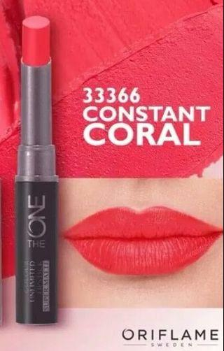 The One Colour Unlimited Lipstick Oriflame