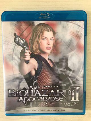 Biohazard 2 apocalypse 生化危機2 blu-ray