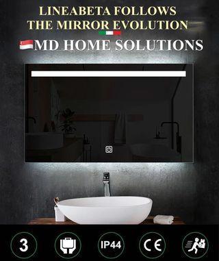 MD Home - LINEABETA Fogless Bathroom Mirror